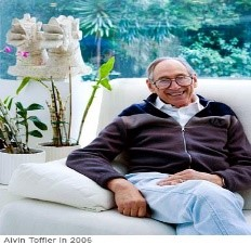 Alvin Toffler school future mind how to teach